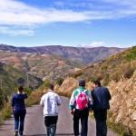 Senderismo por la sierra La Contraviesa Al sur de Granada