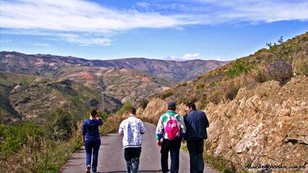 Senderismo Al sur de Granada